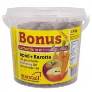 Friandise pomme carotte