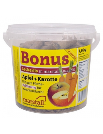 Marstall Friandise pour cheval pomme carotte