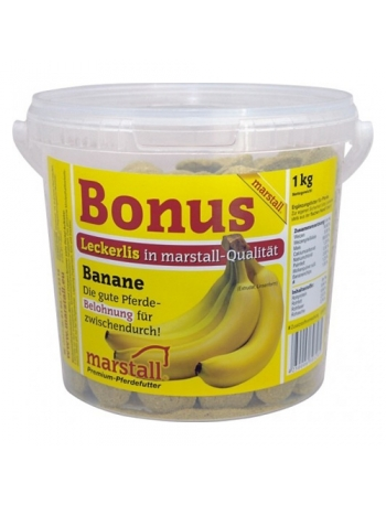 Marstall Friandise pour cheval à la banane