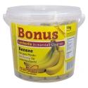 Friandise banane Récupération en Boutique