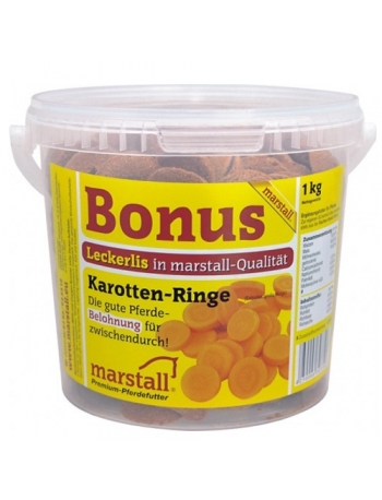 Marstall Friandise pour cheval à la carotte
