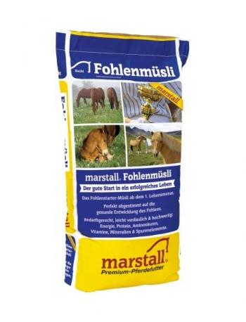 Marstall Fohlenmüsli Zucht Linie