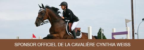 R�ve de Ch'val, sponsor officiel de Cynthia Weiss